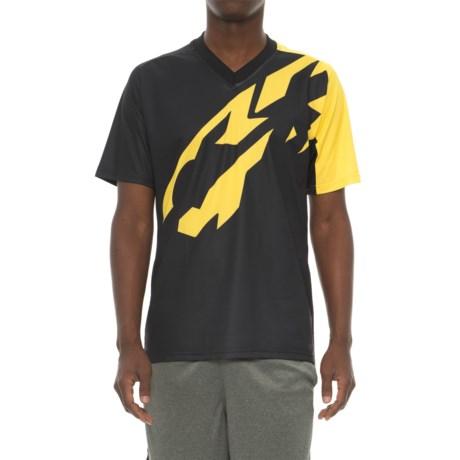 Mavic XM Pro Mountain Bike Jersey - Short Sleeve (For Men) in Black/Yellow Mavic