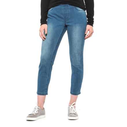 Max Jeans Denim Crop Jeggings (For Women) in Sunset Wash - Closeouts