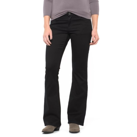 Max Jeans Modern Bootcut Pants (For Women) in Black