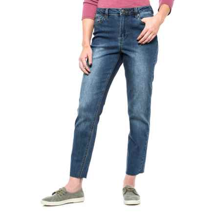 Max Jeans Mom Jeans (For Women) in Blue Ocean Wash - Closeouts