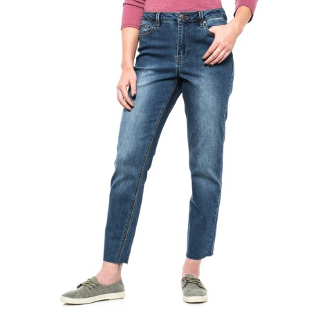 Max Jeans Mom Jeans (For Women) in Blue Ocean Wash