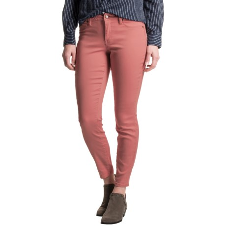 Max Jeans Skinny Crop Jeans (For Women) - Save 81%