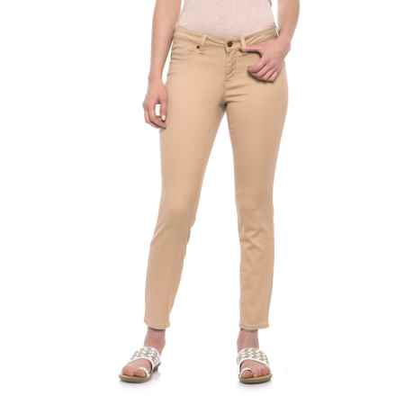 Max Jeans Skinny Crop Jeans (For Women) in Warm Sand - Closeouts