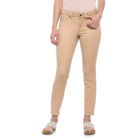 Max Jeans Skinny Crop Jeans (For Women) in Warm Sand