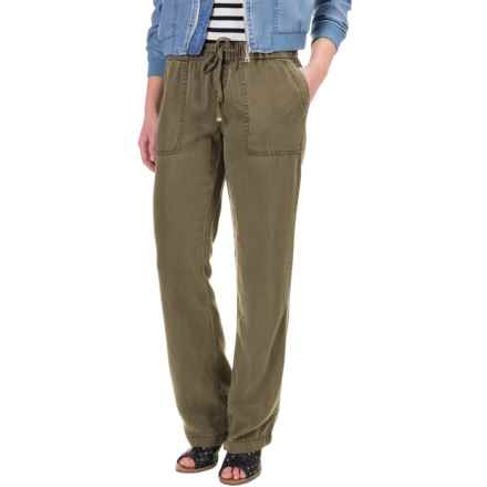 Max Jeans TENCEL® Pants - Easy Fit (For Women) in Olive - Closeouts