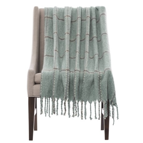 "Max Studio Barrow Throw Blanket - 50x60"" in Taupe"