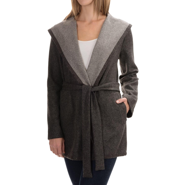 Wrap coats for women