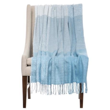 "Max Studio Bluffton Throw Blanket - 50x60"" in Blue"