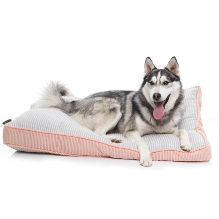 d30bafc1ad9d Max Studio Carlos Rectangle Dog Bed 28x40 In Grey Orange Closeouts. Dog  Beds Hygiene Average Savings Of 40 At Sierra