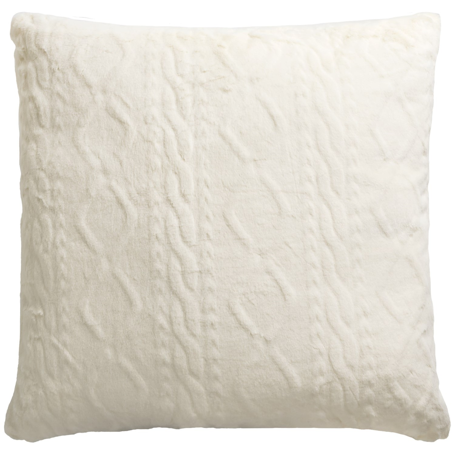 "Max Studio Concord Faux-Fur Throw Pillow - 20x20"" - Save 20%"