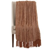 Max Studio Diamond Chenille Throw Blanket - 50x60""