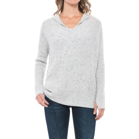 Max Studio Hooded Cashmere Sweater (For Women)