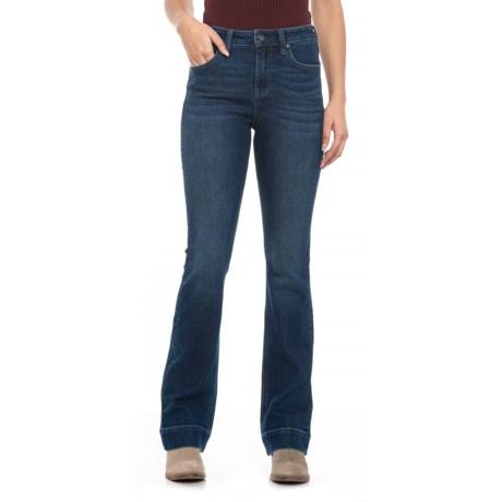 e39c7a02 Max Studio Indigo Silas Wash Jeans - High Rise, Slim Fit, Bootcut (For