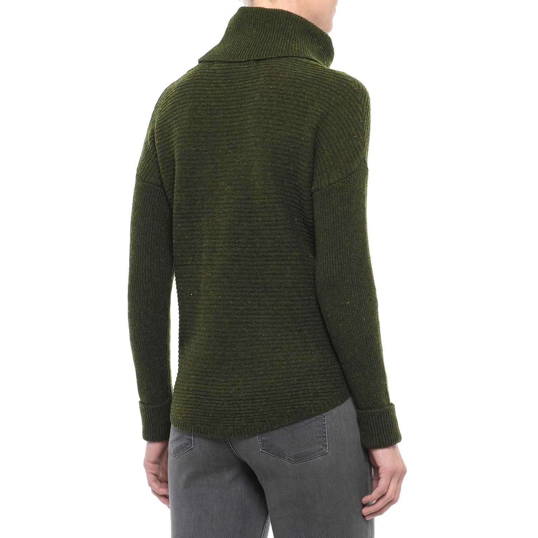 Max Studio Ottoman Turtleneck Tunic Sweater (For Women) - Save 50%