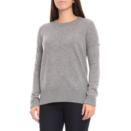 8586343ff Max Studio Oversized Cashmere Pullover Sweater - Scoop Neck