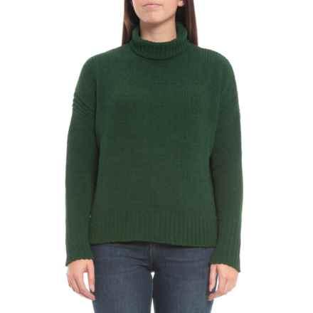 Max Studio Popo Sweater - Mock Neck (For Women) in Mistletoe - Closeouts