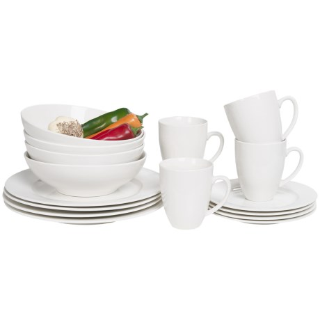 Maxwell and Williams Basics Studio Dinner Set 16 Piece