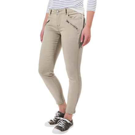 May Ankle Pants (For Women) in Pebble - 2nds