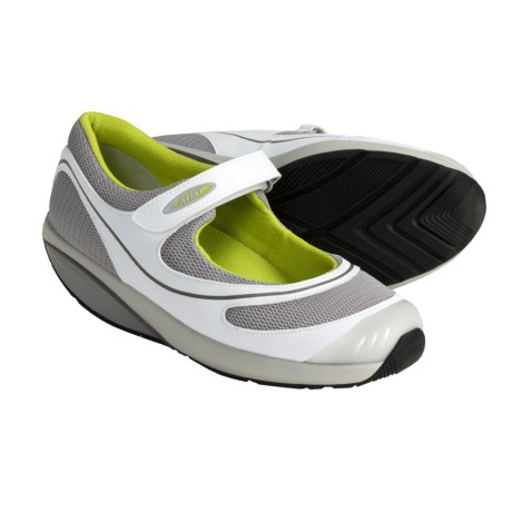 MBT Baridi Shoes - Mary Janes (For Women) in Dove