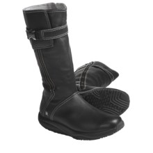 "MBT Goti Casual Mid Boots - 12"", Leather (For Women) in Black - Closeouts"