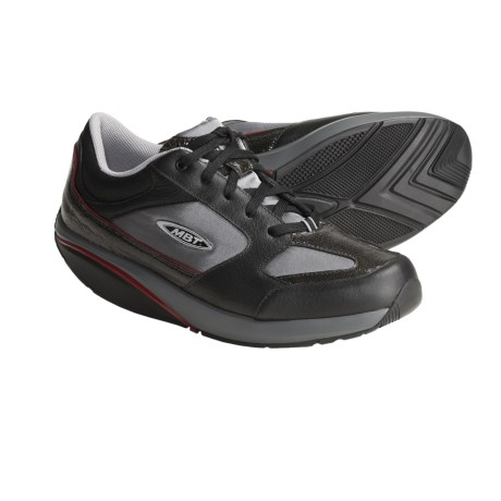 MBT Moja Lux Fitness Shoes (For Women) in Silver/Black