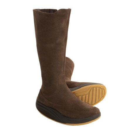 MBT Tambo Leather Boots (For Women) in Chocolate