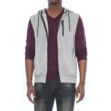 MC Squared Tech Fleece Hooded Vest (For Men)