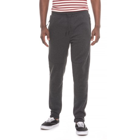 MC Squared Tech Fleece Joggers (For Men) in Charcoal Heather