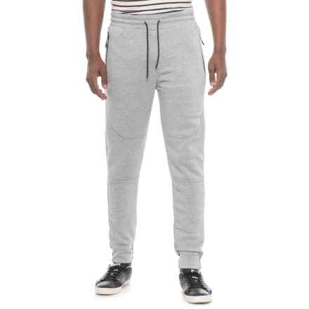 MC Squared Tech Fleece Joggers (For Men) in Heather Grey - Closeouts