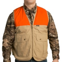 Browning Upland Hunting Vest Waxed Cotton Canvas For