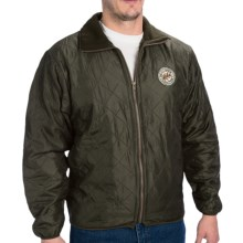 McAlister Quilted Jacket - Insulated (For Men) in Olive - Closeouts