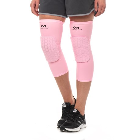 300e203d2c0556 McDavid HEX® Leg Sleeves - Pair (For Men and Women) in Light Pink