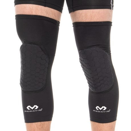 c9d9f57927 McDavid Hex Tuf TEFLX Leg Sleeves - Pair (For Men and Women) in Mgrid