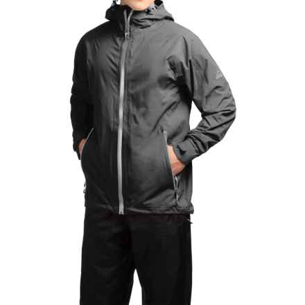 McKinley Ambay UX Jacket - Waterproof (For Men) in Black - Closeouts