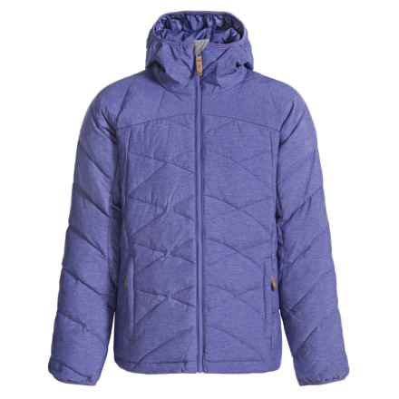 McKinley Cranbrook Down Jacket - Hooded (For Big Girls) in Royal Blue - Closeouts