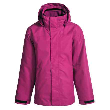 McKinley Durados Jacket - Waterproof, 3-in-1 (For Big Kids) in Dark Pink - Closeouts