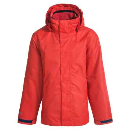 McKinley Durados Jacket - Waterproof, 3-in-1 (For Big Kids) in Red - Closeouts