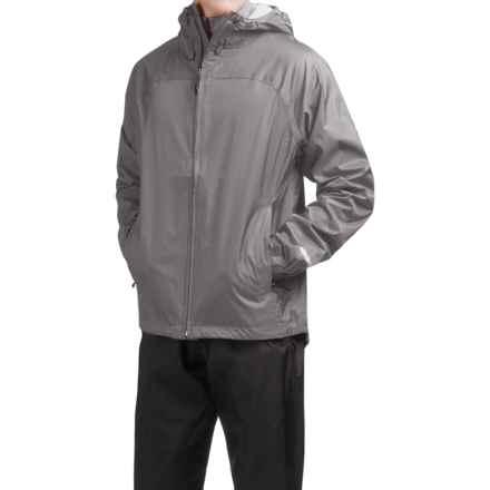 McKinley Kitsalano Rain Jacket - Waterproof (For Men and Women) in Monument Grey - Closeouts