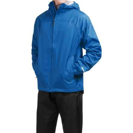 McKinley Kitsalano Rain Jacket - Waterproof (For Men and Women) in Skydiver Blue - Closeouts