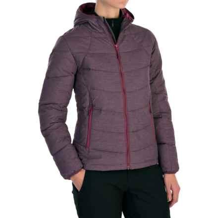 McKinley Laje Hooded Down Jacket (For Women) in Purple - Closeouts