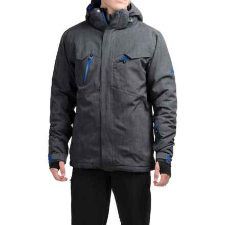 McKinley Narash Ski Jacket - Waterproof, Insulated (For Men) in Dark Grey - Closeouts