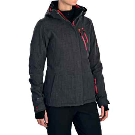 McKinley Narash Ski Jacket - Waterproof, Insulated (For Women) in Dark Grey - Closeouts