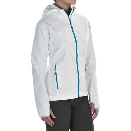 McKinley Pahoa Hooded Soft Shell Jacket (For Women) in White - Closeouts
