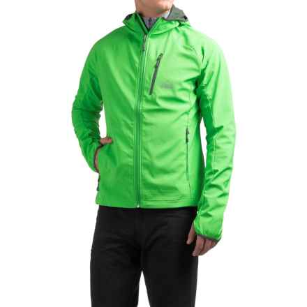 McKinley Pahoa Hooded UX Soft Shell Jacket (For Men) in Green - Closeouts