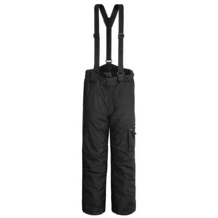 McKinley Weenan Snow Pants - Insulated (For Big Kids) in Black - Closeouts