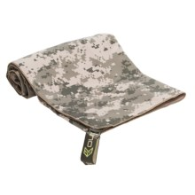 McNett Microfiber Towel - Large in Army Combat Camo - Closeouts