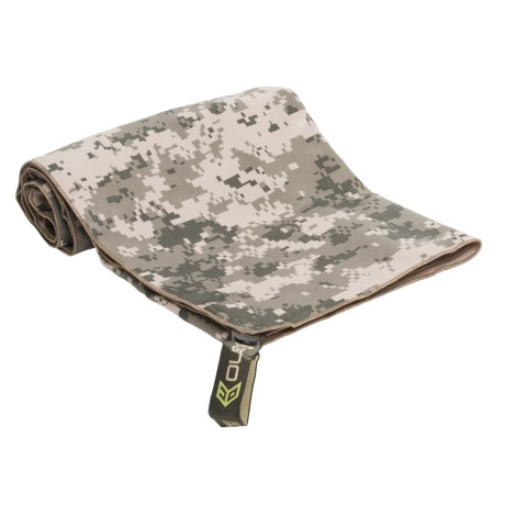 McNett Microfiber Towel - Large in Army Combat Camo