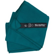 McNett Microfiber Towel - Large in Teal Green - Closeouts