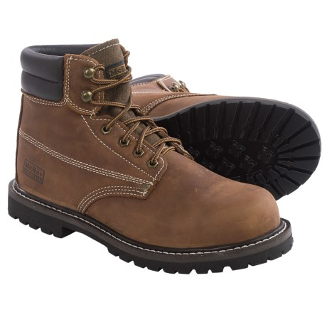 McRae EH Work Boots Leather, Steel Toe (For Men)