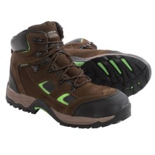 McRae Hiker Work Boots - Waterproof, Steel Toe, Suede (For Men) in Brown - Closeouts